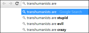 Transhumanists Are